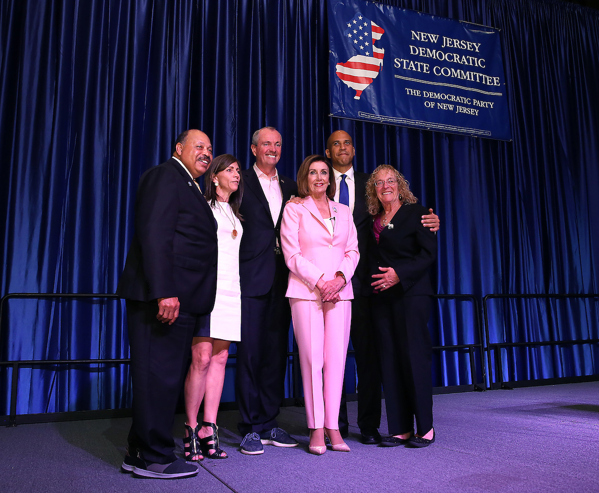 The New Jersey Democratic Convention featured United States House of Representatives Speaker, Nancy Pelosi in Atlantic City.