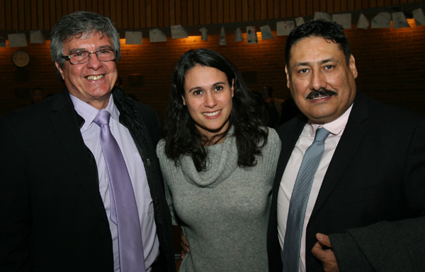 Mexicanos honorables llegaron a la ceremonia de Passaic, New Jersey.