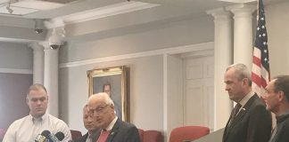 Congressman Bill Pascrell Jr. addressing a Tax symposium idea.