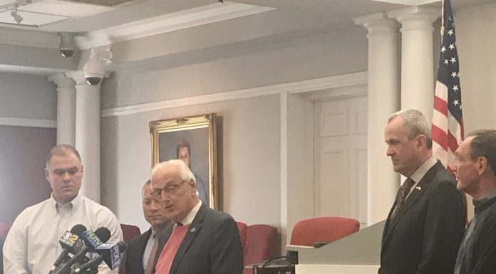 Congressman Bill Pascrell Jr. addressing a Tax symposium idea.