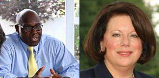 Senator Troy Singleton and Senator Linda Greenstein. Photos taken from their websites.