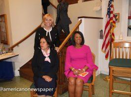 Perth Amboy Mayor Wilda Diaz, Susana G. Bauman and NJ Lt. Gov. Sheila Oliver at the RYC in Perth Amboy!