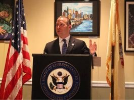 Congressman Josh Gottheimer (NJ-5) hosted a showcase of 75 submissions in the Congressional Art Competition at The Hermitage in Ho-Ho-Kus.
