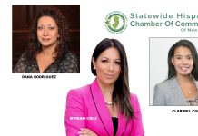 Dana Rodriguez, Myriam Cruz, and Claribel Cortez join SHCCNJ.