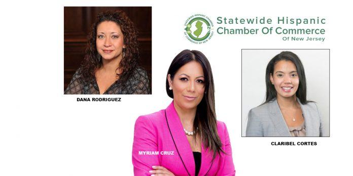 Dana Rodriguez, Myriam Cruz, and Claribel Cortez join SHCCNJ.