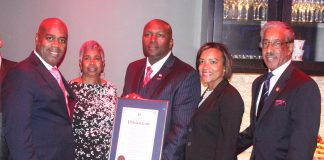 Chairwoman Tucker Hosts New Jersey'sFirst African-American Adjutant General, Brigadier General Jemal J. Beale